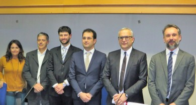 I rappresentanti di Enea e delle imprese premiate